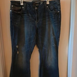 Seven7 Jeans distressed